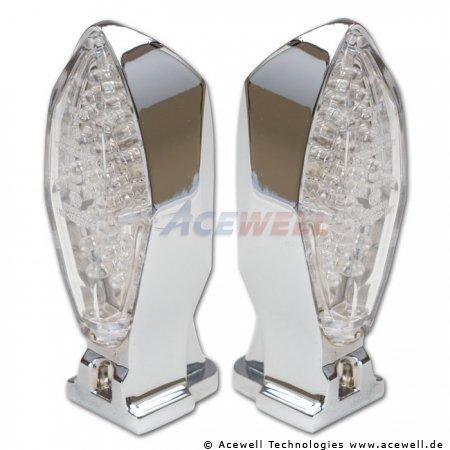 LED Mini Blinker & Rücklicht Kombi