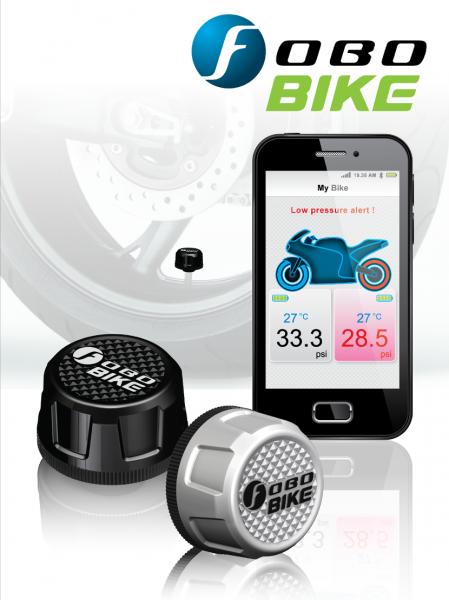 FOBO Bike Bluetooth Reifendruckkontrollsystem