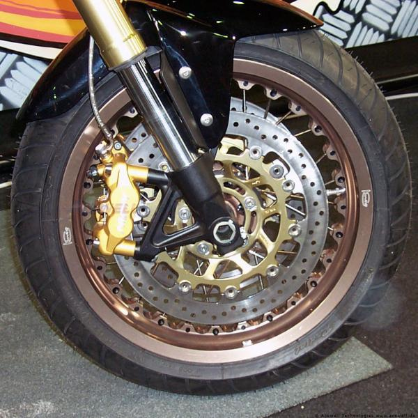 Triumph Tiger 800 XC Kineo Wheels Big Enduro