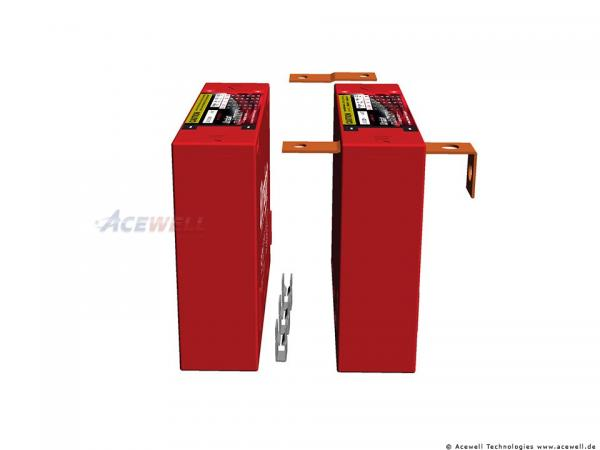 Ultrabatt multiMIGHTY 400A, 4,6 Ah entspricht einer 12AH Blei-Säue Batterie