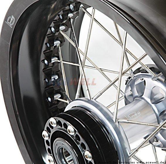 MV Agusta Brutale 989 R Kineo Wheels Maxi 17