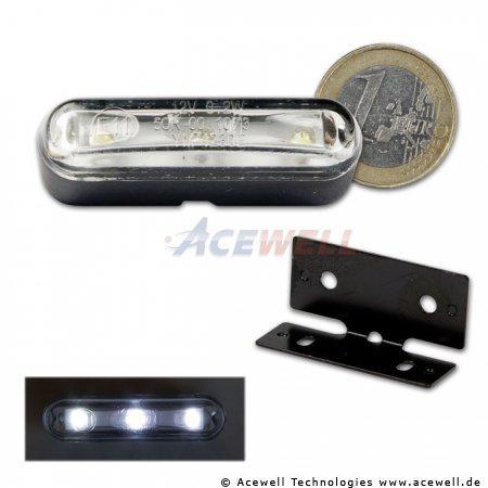 Mini LED Kennzeichen Beleuchtung klebend