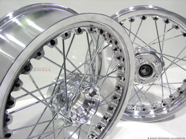 Honda CB1100 Kineo wheels Big Enduro