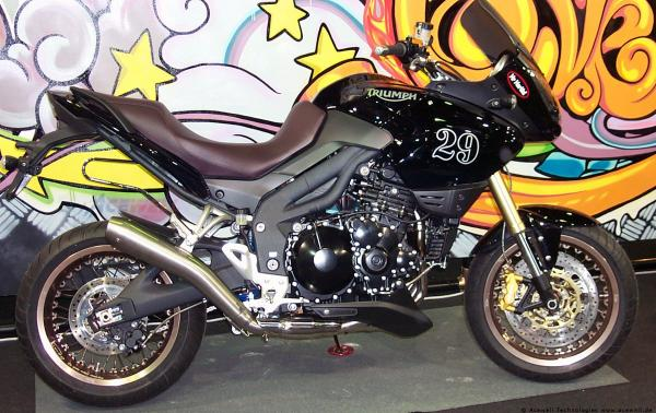 Triumph Tiger 800 Kineo Wheels Big Enduro