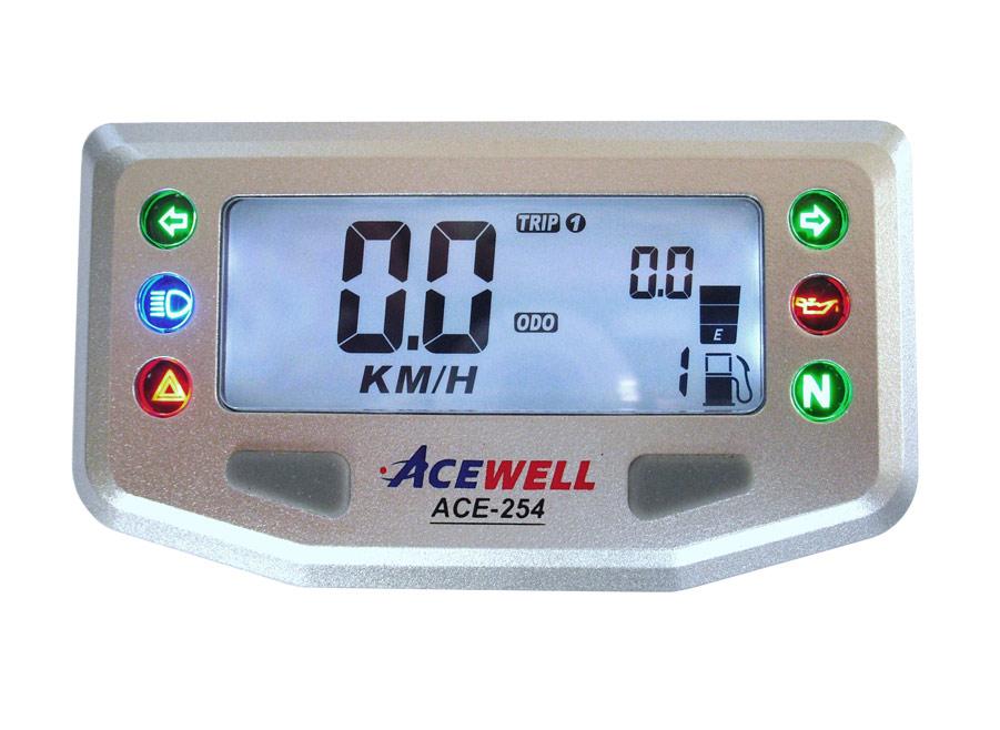 f/ür Triumph BMW und Honda Acewell ACE-TA2 Elektronische Tachowelle Speed Sensor