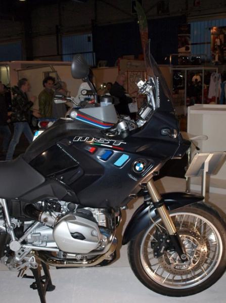 Akhenaton für BMW R 1200 GS 2008-2011 in Matt Schwarz