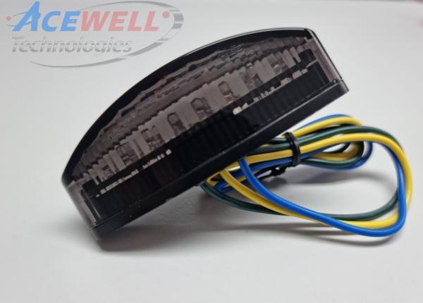 LED Kennzeichenbeleuchtung mit Brems/Rücklicht | HIGHSIDER LITTLE NUMBER1